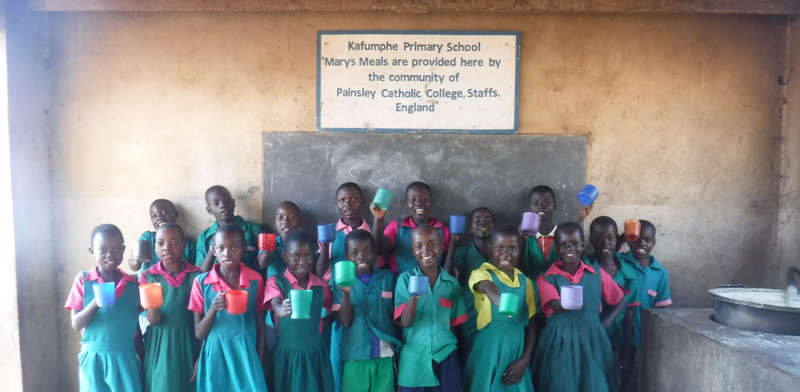 World record donation from Painsley to Mary's Meals