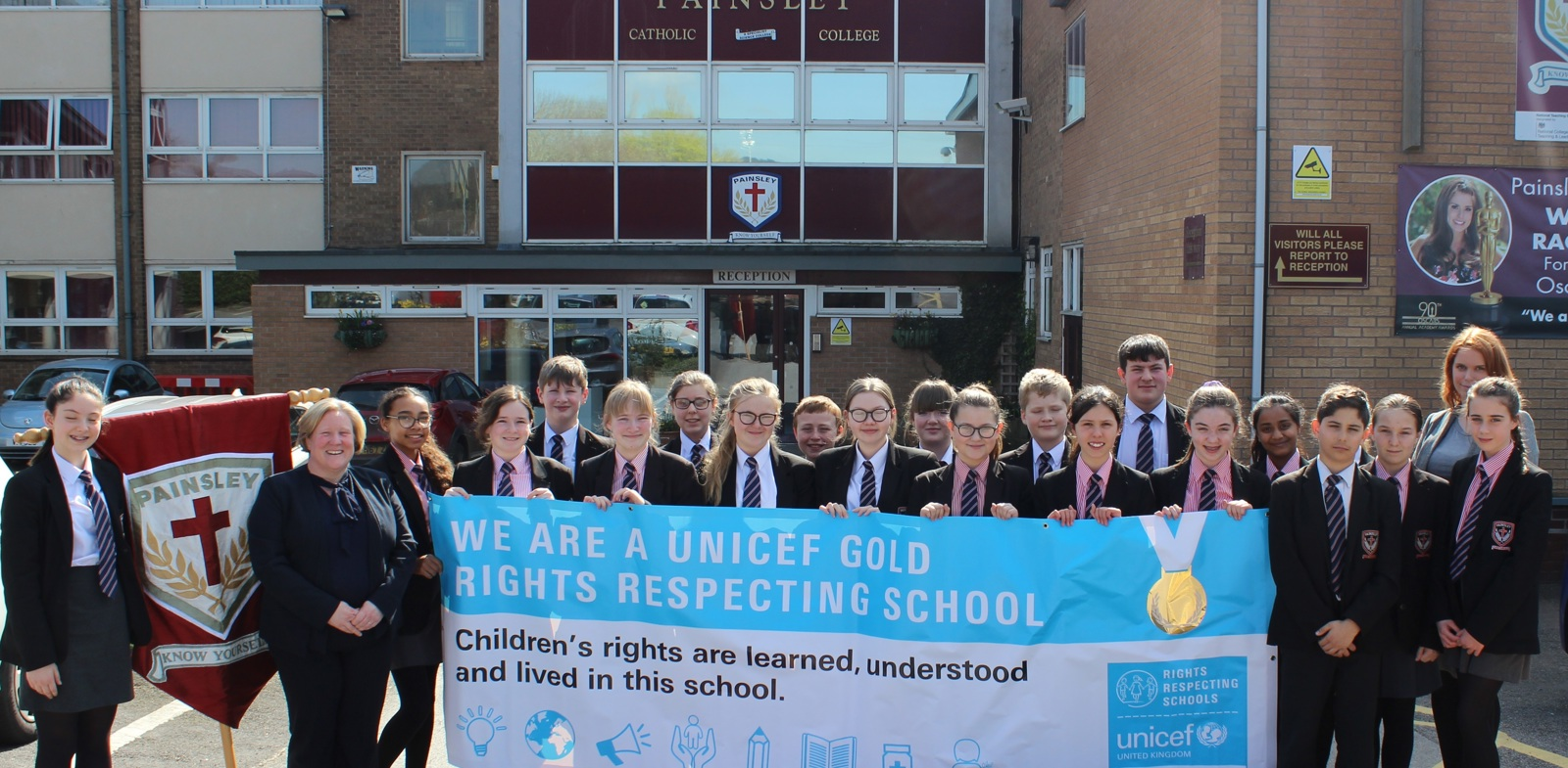 Gold Standard for Painsley from UNICEF
