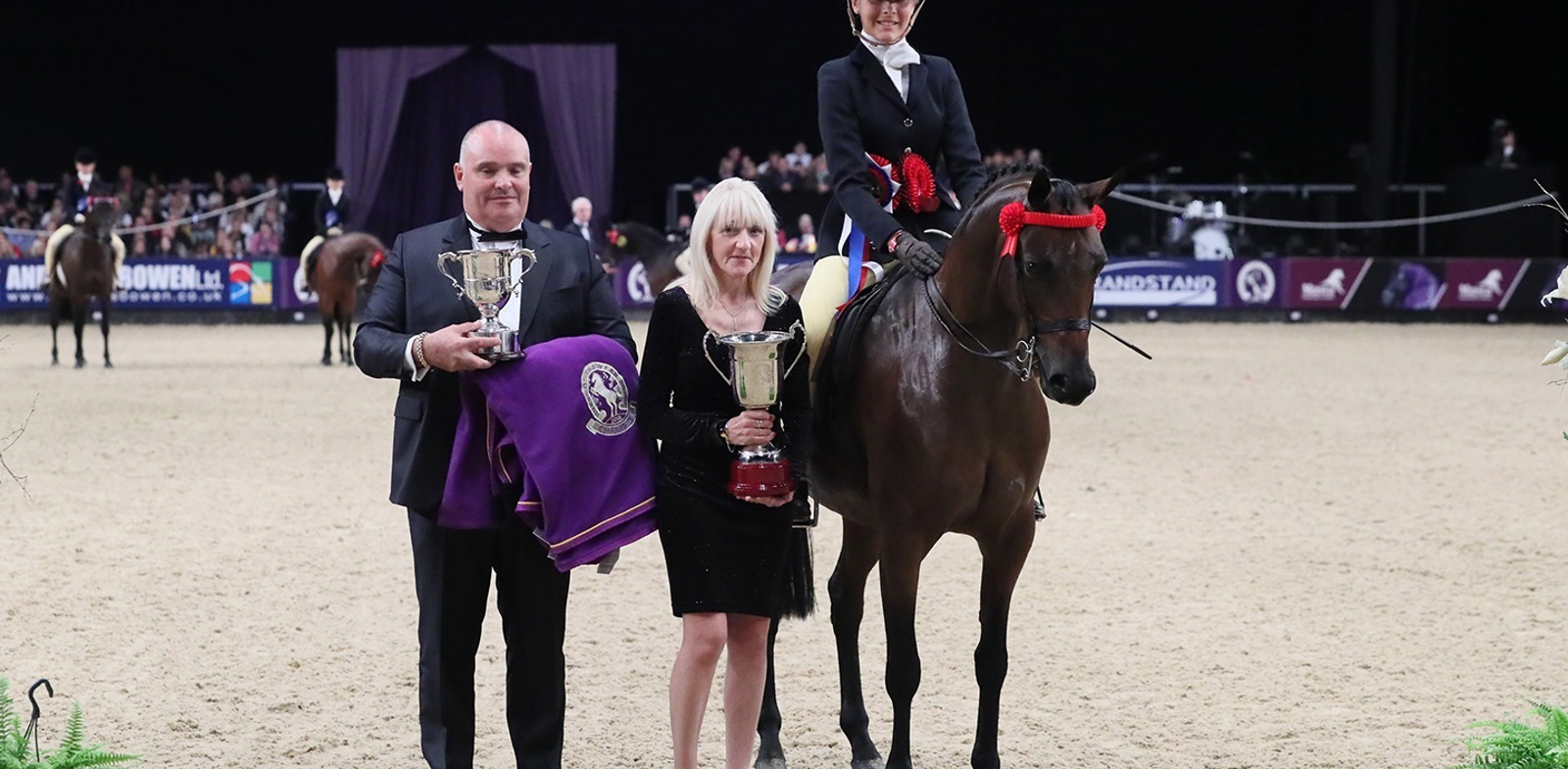 Staffordshire Student Wins at her First Horse of the Year Show