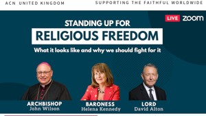 Webinar: Standing up for Religious Freedom