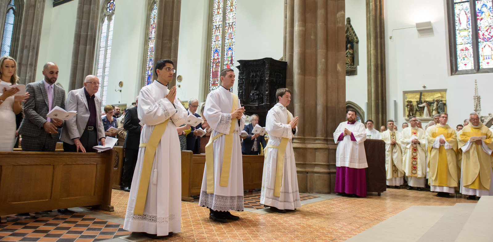 Three priests ordained at St Chad's