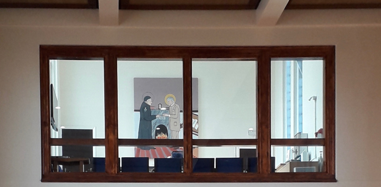New Newman painting unveiled at Birmingham Church