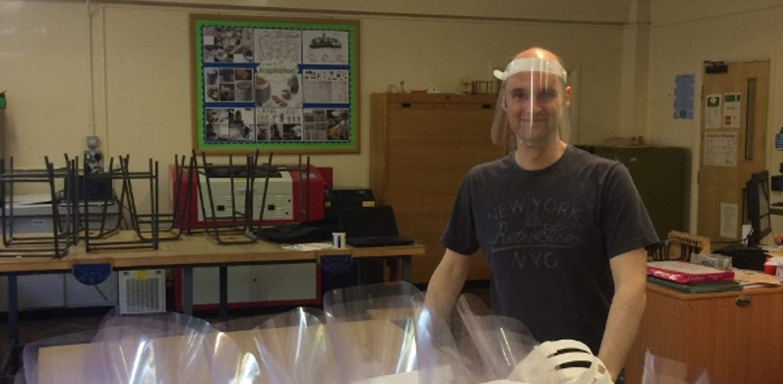 Staffordshire college manufactures and delivers PPE for local carers