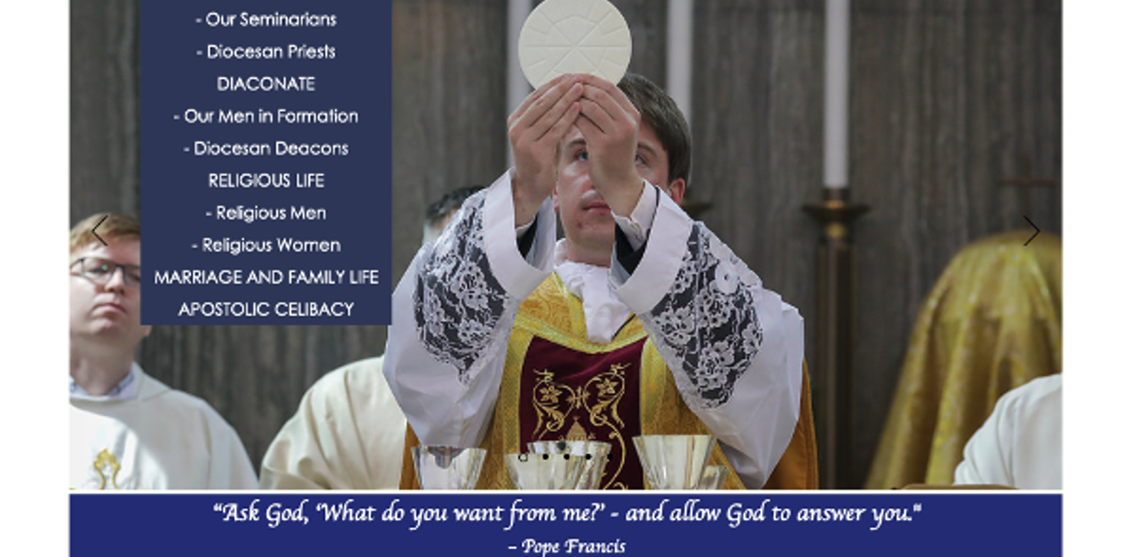 New website to help God's call be heard across the Archdiocese of Birmingham