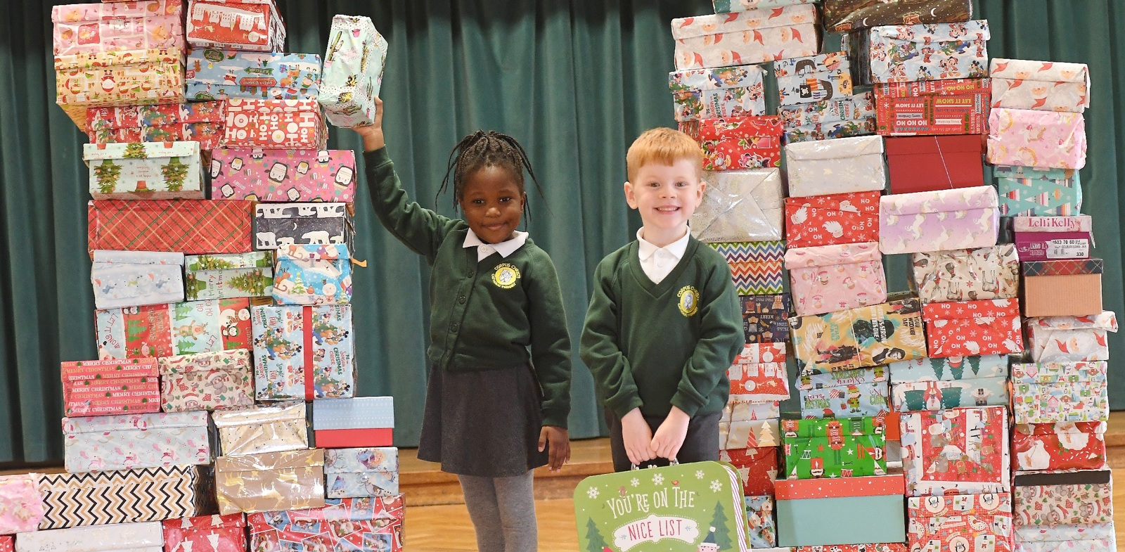 Coventry students get behind Operation Christmas Child