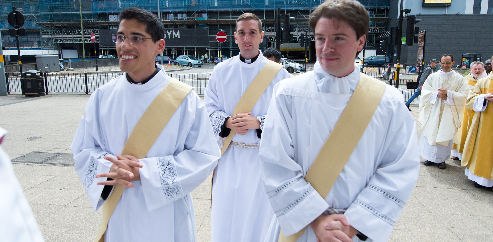 Watch - the ordination of three new priests