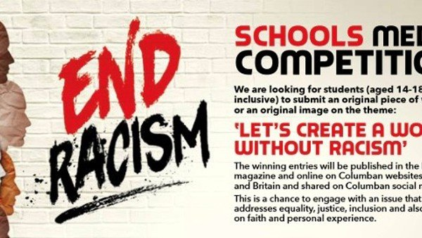 Columbans launch schools media competition to 'End Racism'
