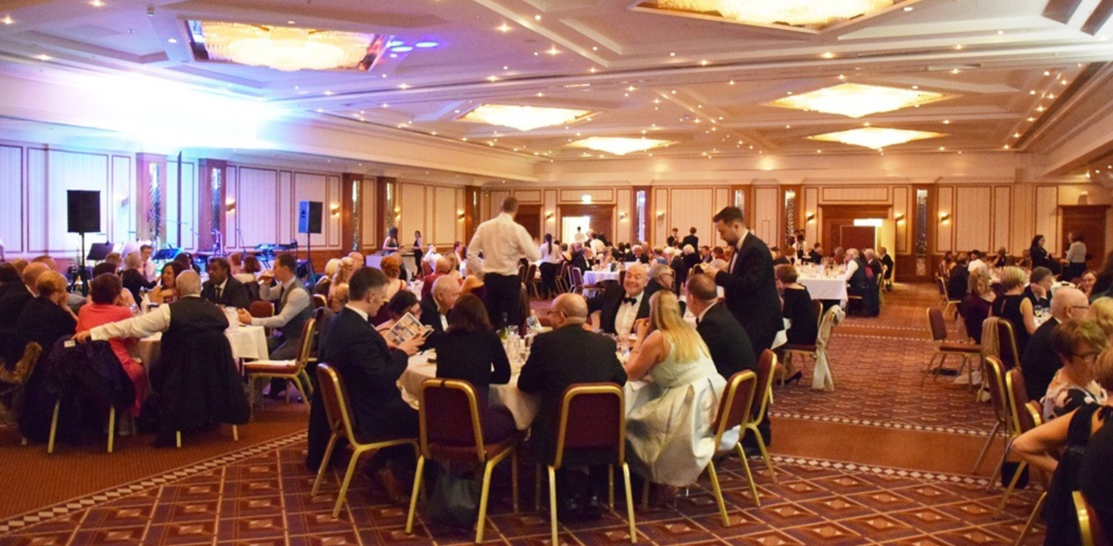 Dinner, dancing and donations at Fundraising Ball