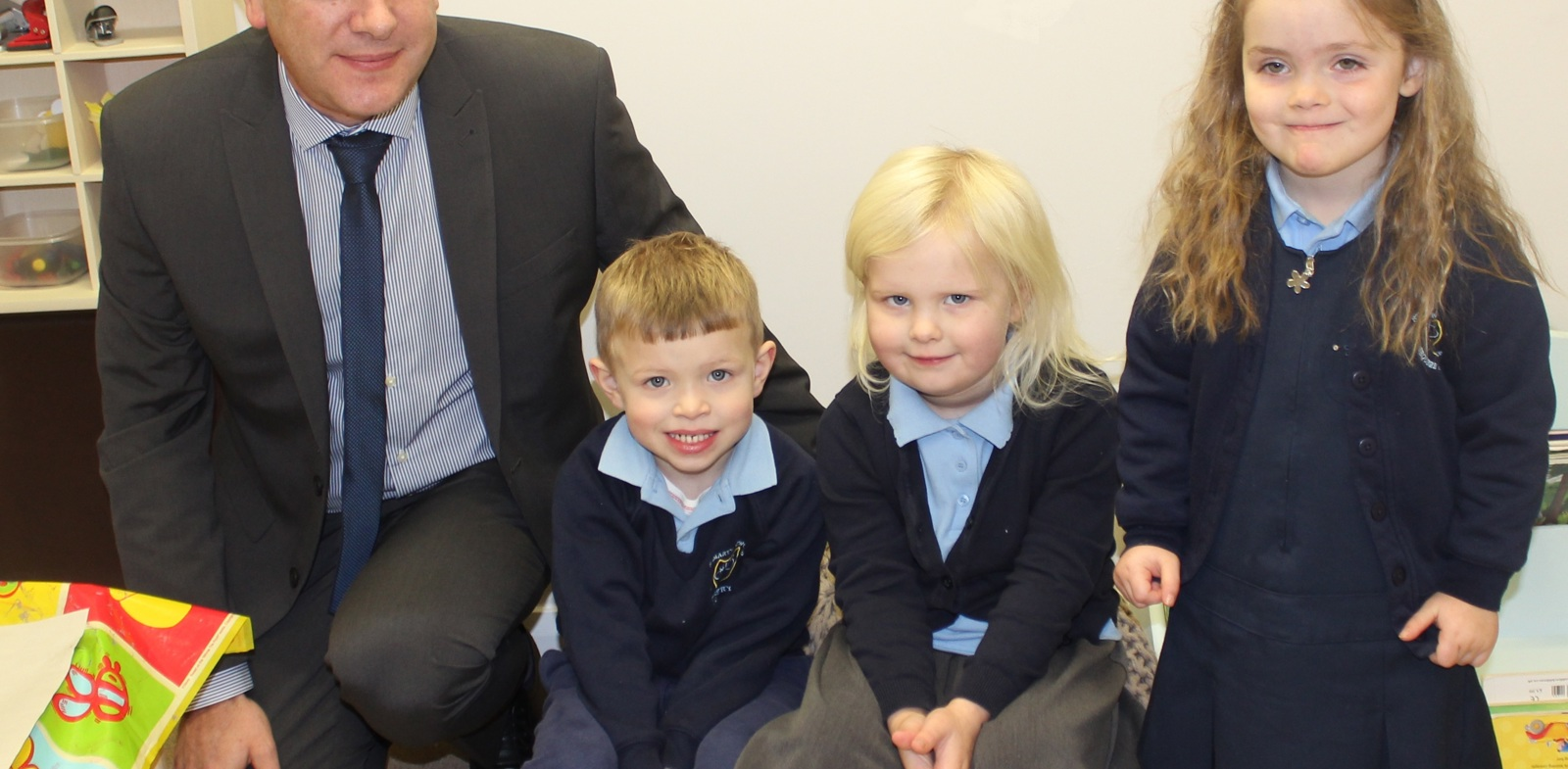Official Opening of New Nursery St Mary's Primary School, Brewood