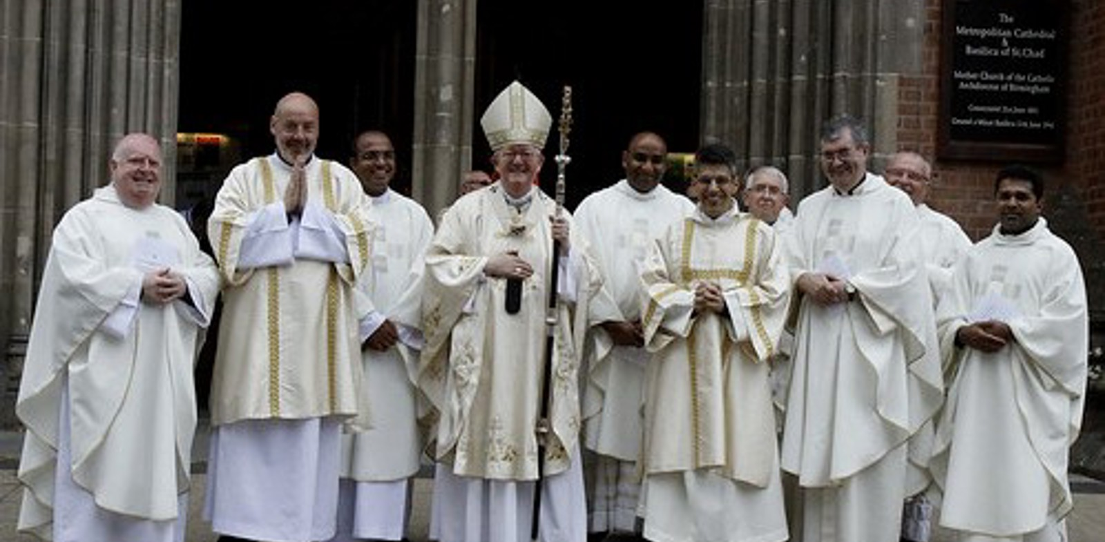 Permanent Deacons ordained at St Chad's Cathedral