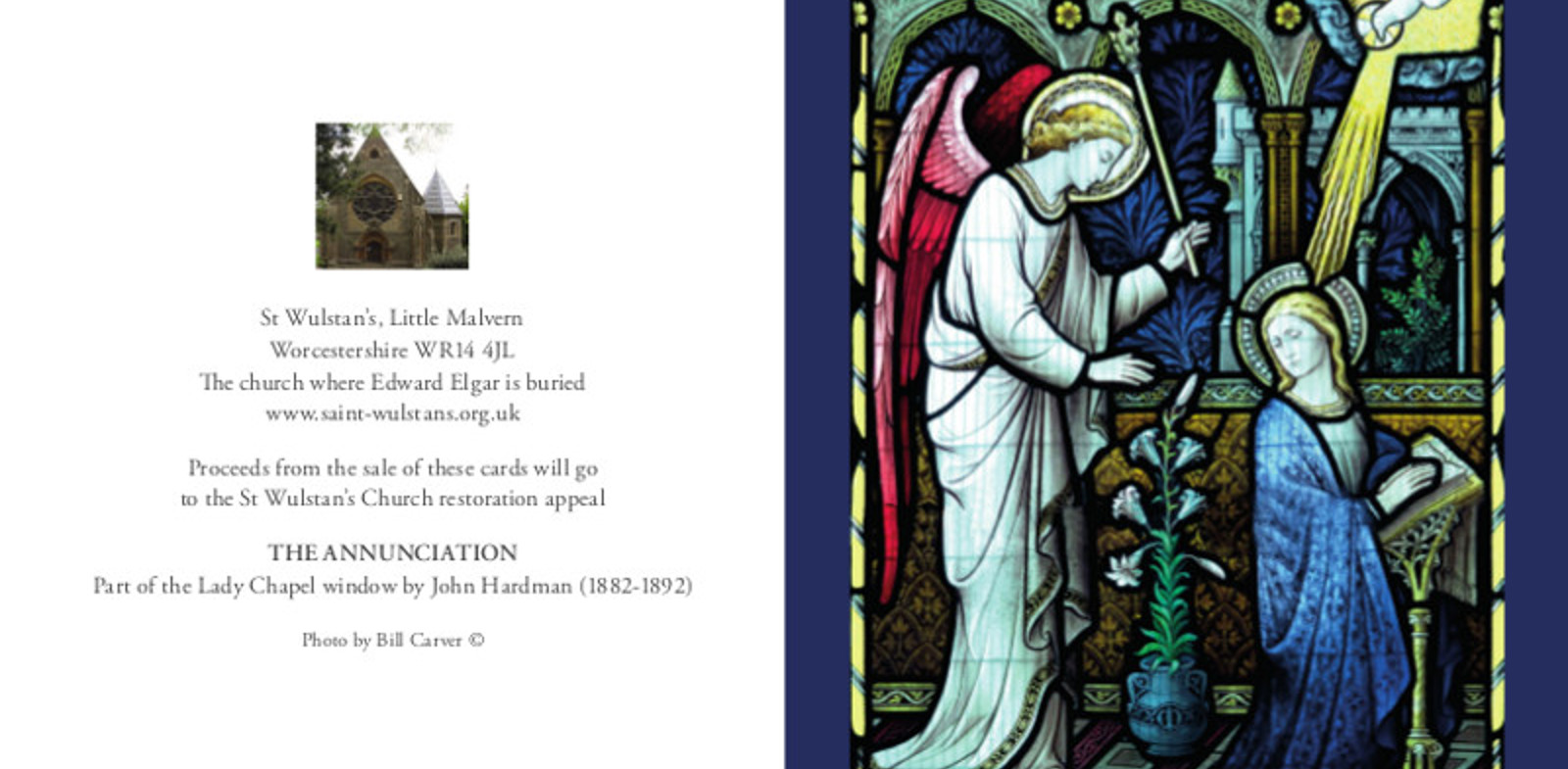 Annunciation Christmas Cards selling fast
