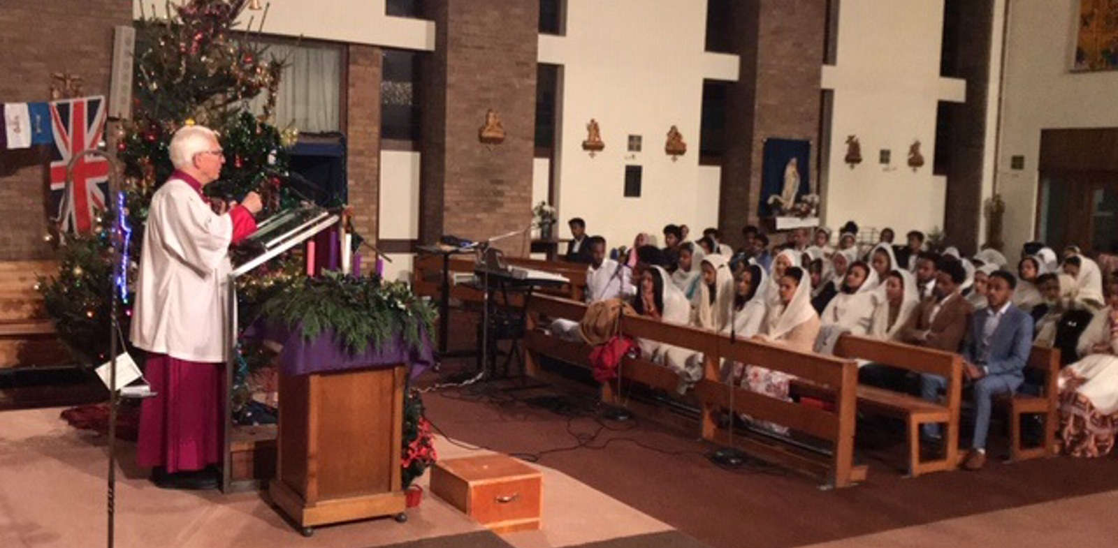 Christmas Mass of the Eritrean Community
