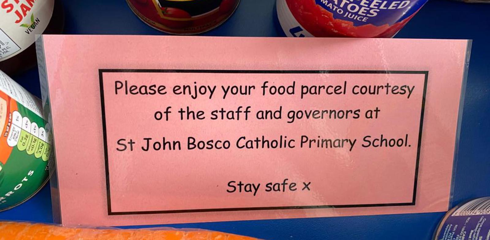 Primary School Supports Community with Food Packages
