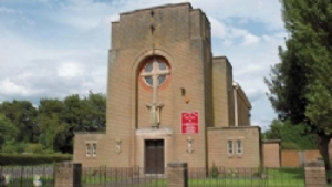 The Sacred Heart and Holy Souls, Tipton